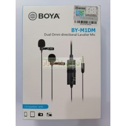 Boya Dual Option Studio Mic (2 Mics) BY-M1DMD