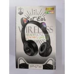 Cat Ear Color Lights RGB Wireless Headphone P47-M