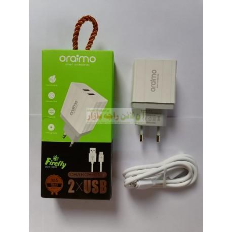 Oraimo Heavy Duty 2 Usb Firefly Charger Micro 8600