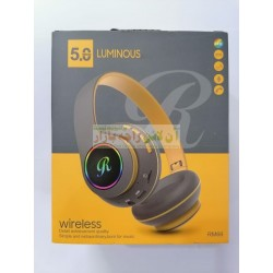 Luminous RM-66 Changing Lights SD Card Supported Wireless Headphone