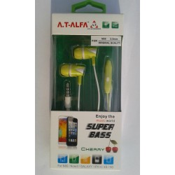AT ALFA Hands Free Super Bass (X19 Cherry)